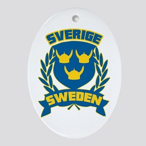 Swedish Ornament (Oval)