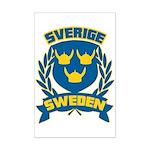 Swedish Mini Poster Print