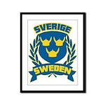 Swedish Framed Panel Print