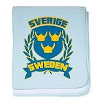Swedish baby blanket