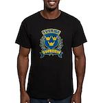 Swedish Men's Fitted T-Shirt (dark)