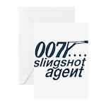 Slingshot Greeting Cards (Pk of 20)