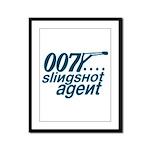 Slingshot Framed Panel Print