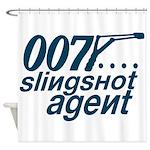Slingshot Shower Curtain