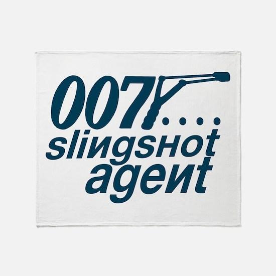 Slingshot Throw Blanket