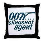 Slingshot Throw Pillow
