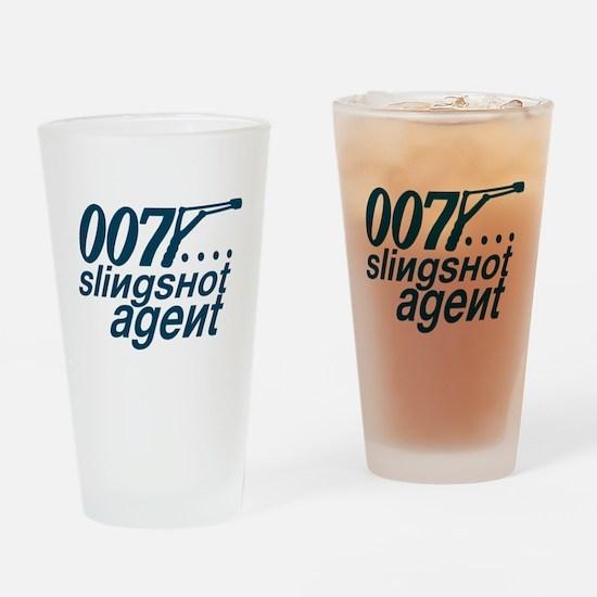 Slingshot Drinking Glass