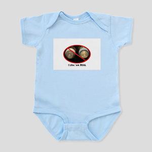 I Like 'em REAL, Pro Breastfeeding Infant Creeper