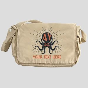Delta Upsilon Octopus Messenger Bag