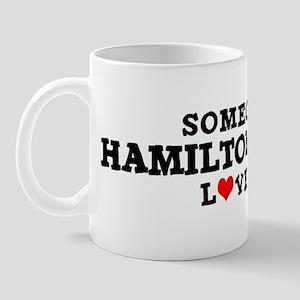 Hamilton Branch: Loves Me Mug