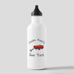 Ocean Beach Fire Island Stainless Water Bottle 1.0
