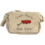 Ocean Beach Fire Island Messenger Bag
