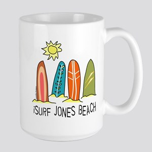 iSurf Jones Beach Large Mug