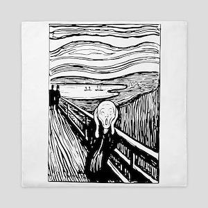 Edvard Munch The Scream Queen Duvet