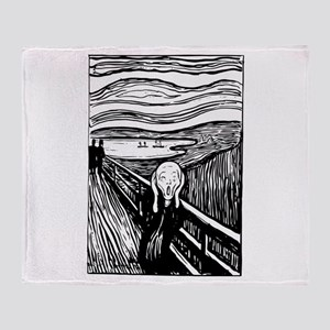 Edvard Munch The Scream Throw Blanket