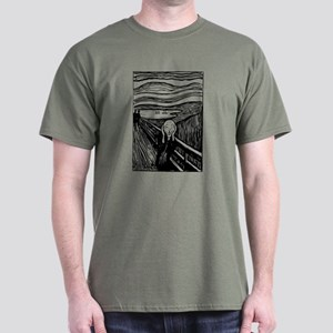 Edvard Munch The Scream Dark T-Shirt