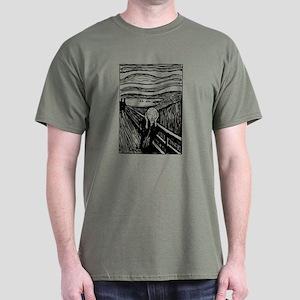 Edvard Munch The Scream Dark T-Shirt