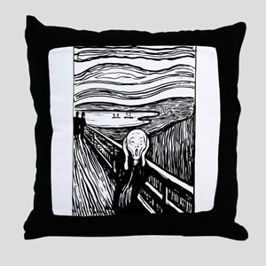 Edvard Munch The Scream Throw Pillow