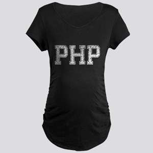 PHP, Vintage, Maternity Dark T-Shirt