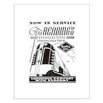 Reading Crusader Streamliner Small Poster