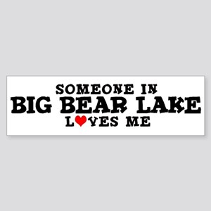 Big Bear Lake: Loves Me Bumper Sticker