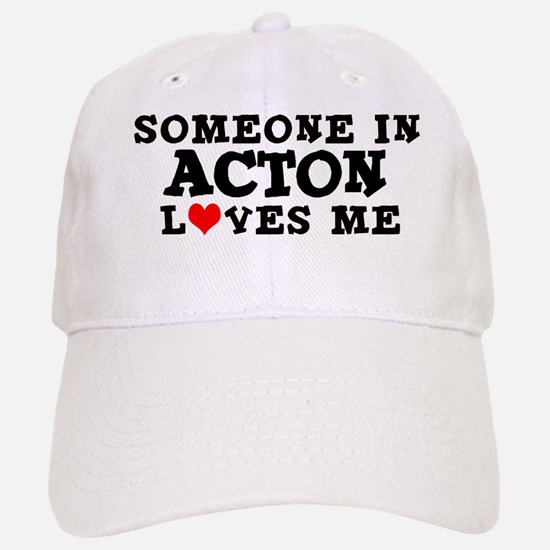 Acton: Loves Me Baseball Baseball Cap