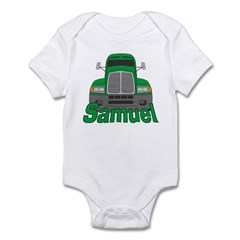 Trucker Samuel Infant Bodysuit
