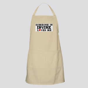 Irvine: Loves Me BBQ Apron