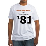 Fenton Class of '81 25th Fitted T-Shirt