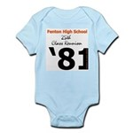 Fenton Class of '81 25th Infant Creeper