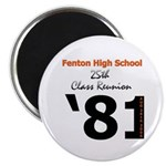 "Fenton Class of '81 25th 2.25"" Magnet (100 pack)"