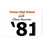 Fenton Class of '81 25th Postcards (Package of 8)