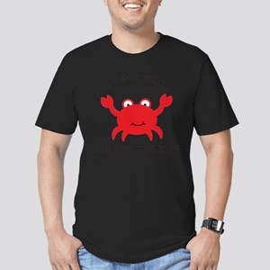 Crabby Until I get my Coffee Men's Fitted T-Shirt