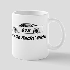 Lets Go Racin Girls Mug