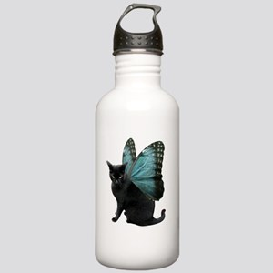 Butterfly Cat Stainless Water Bottle 1.0L