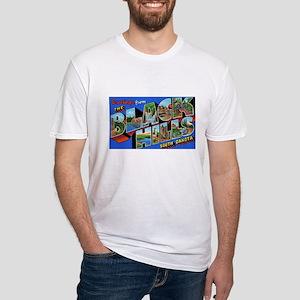 Black Hills South Dakota (Front) Fitted T-Shirt