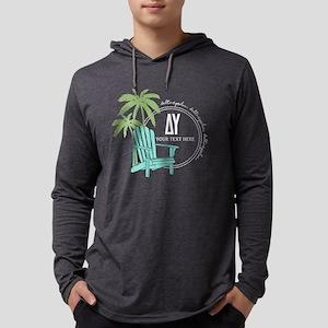 Delta Upsilon Palm Chair Mens Hooded Shirt