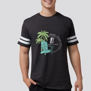 Delta Upsilon Palm Chair Mens Football Shirt