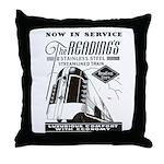 Reading Crusader Streamliner Throw Pillow