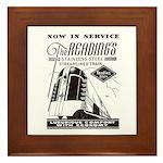 Reading Crusader Streamliner Framed Tile