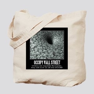 Occupy Wall Street Poster Tote Bag