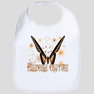 Gold Butterfly HCC Bib