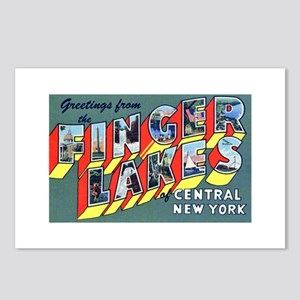 Finger Lakes New York Postcards (Package of 8)