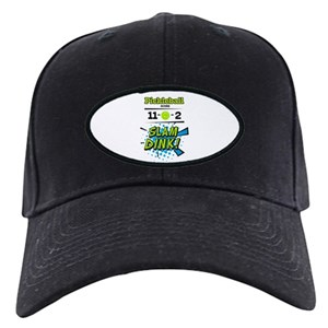 203dbddf6b5 Sports Black Cap With Patch - CafePress