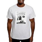 Reading Crusader Streamliner Ash Grey T-Shirt