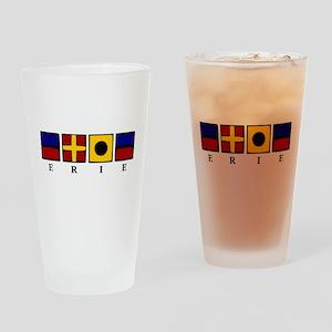 Nautical Erie Drinking Glass