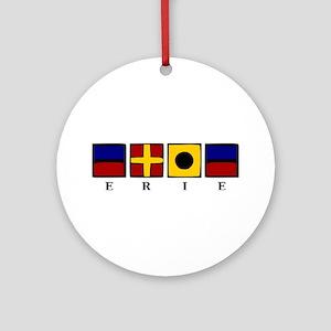 Nautical Erie Ornament (Round)