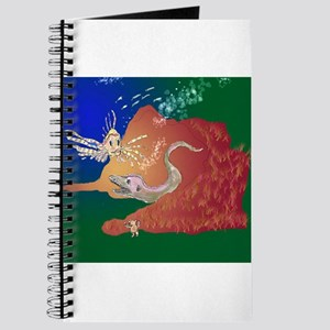 Moray Eel and Lion Fish Journal