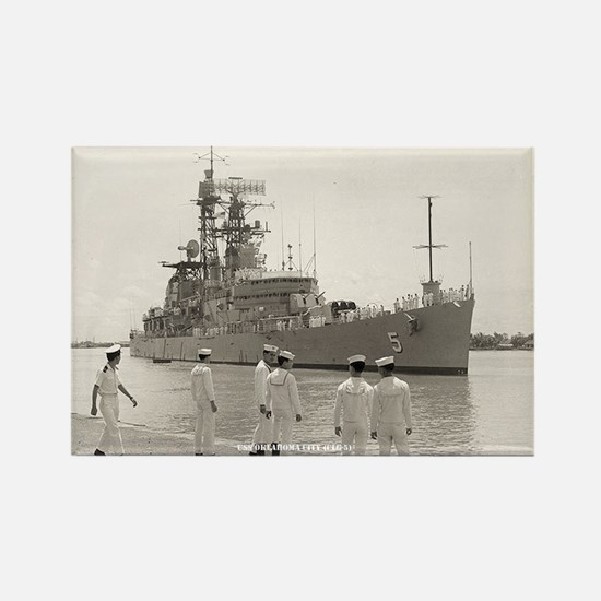 USS OKLAHOMA CITY Rectangle Magnet