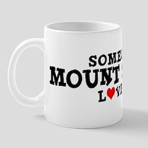 Mount Shasta: Loves Me Mug